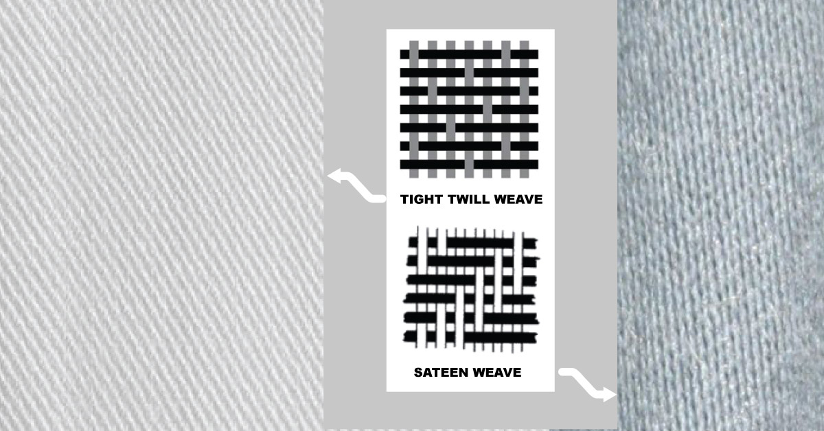 Twill Weave vs. Sateen: What's The Difference